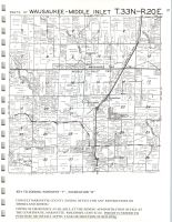 Wausaukee, Middle Inlet T33N-R20E, Marinette County 1973